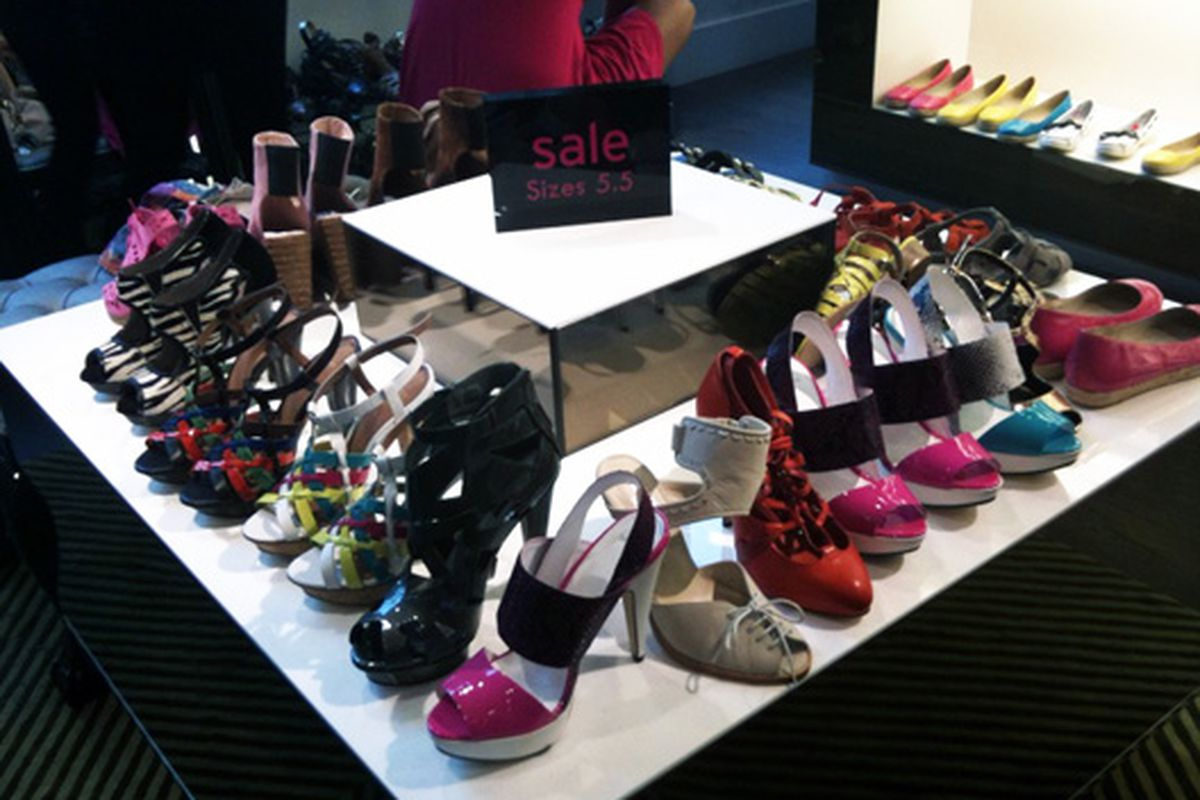 Summer shoes on sale at Topshop