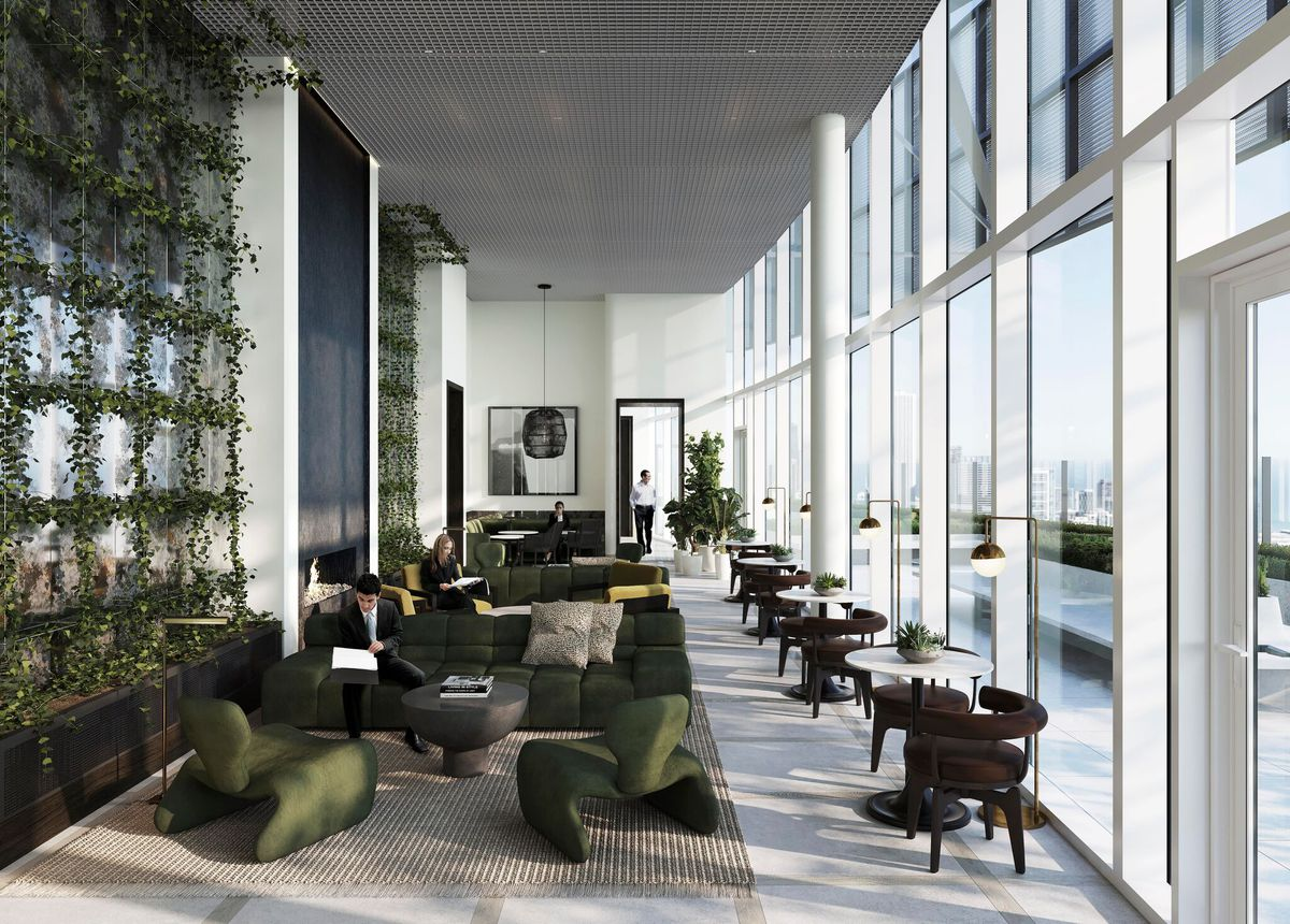 Amenities Interior Designs Unveiled For South Loop S