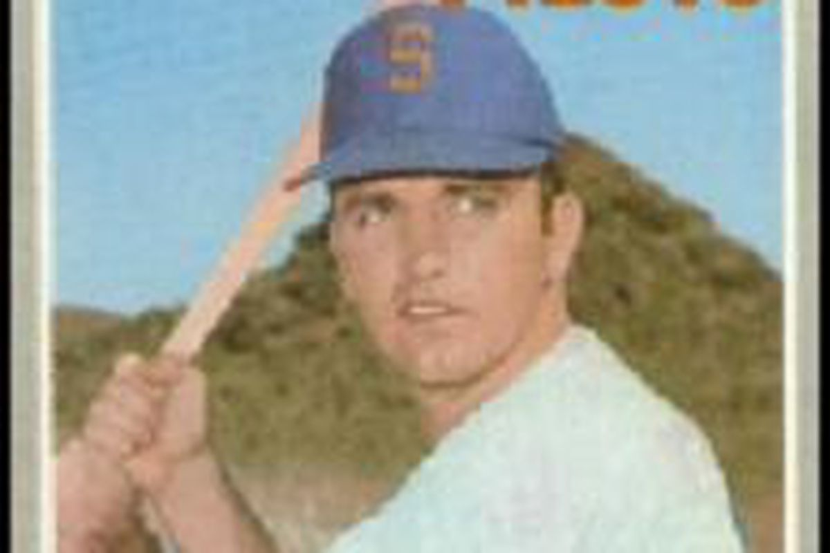 Comer's 1970 Topps card, #323