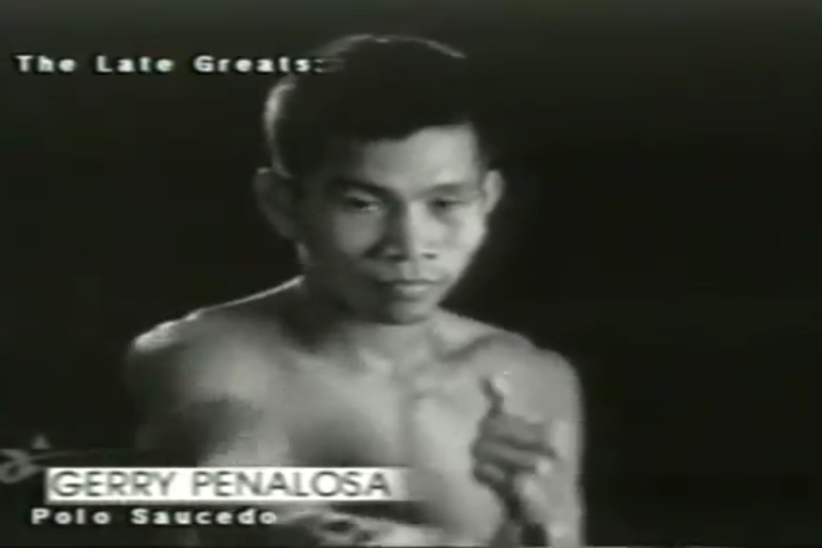 Penalosa before his bout with Saucedo