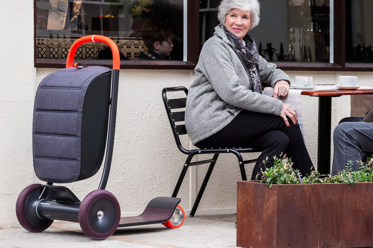 This Souped Up Scooter Was Designed For The Elderly Curbed