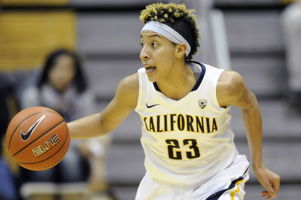 Layshia Clarendon was a star player at Cal before graduating to the WNBA
