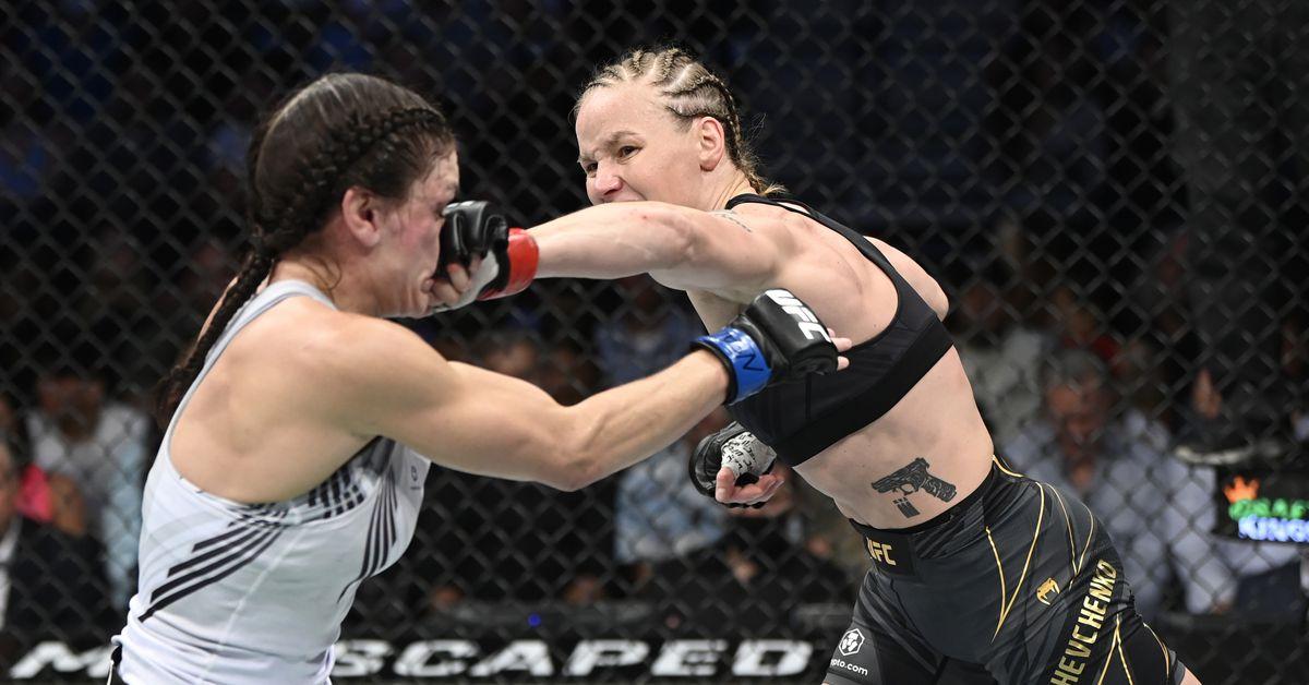 Valentina Shevchenko vs. Lauren Murphy full fight video highlights