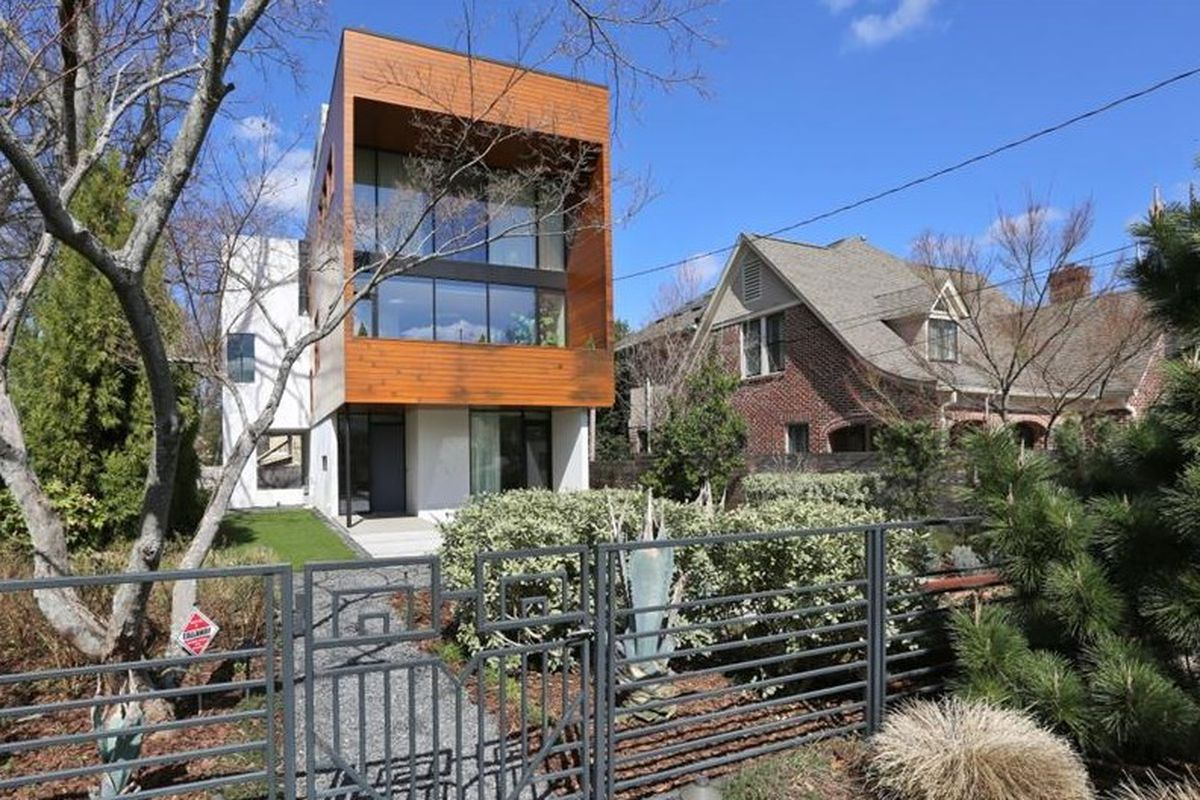 A 2012 modern house in Atlanta near Piedmont Park.