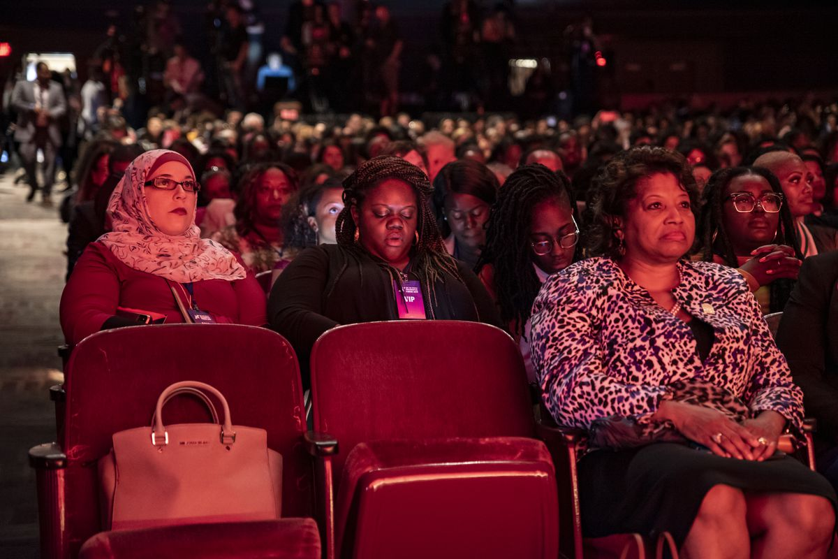 A section of the audience at the She the People Presidential Forum, on April 24, 2019.