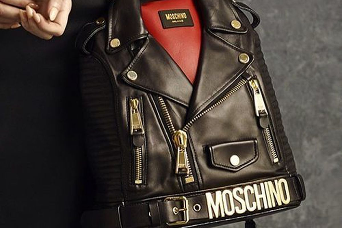 """Be fashion-forward without compromising your posture with this Moschino backpack. Image via <a href=""""http://instagram.com/itsjeremyscott"""">Instagram</a>."""