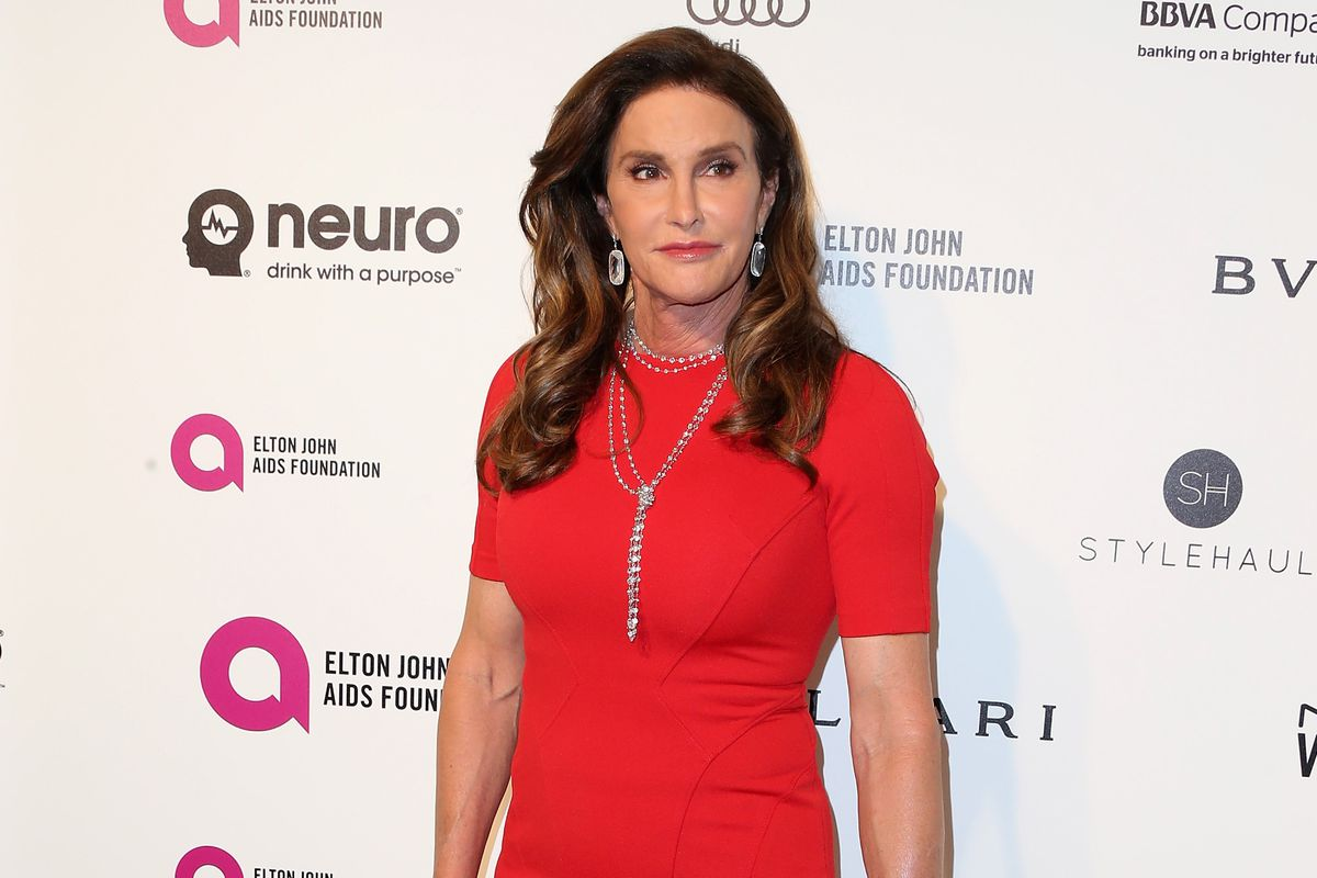 TV personality Caitlyn Jenner attends the 24th Annual Elton John AIDS Foundation's Oscar Viewing Party on February 28, 2016, in West Hollywood, California.
