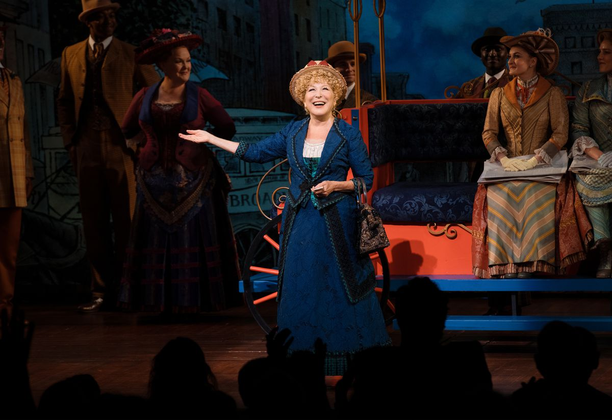 """Bette Midler Returns To Her Tony Award-Winning Role In """"Hello, Dolly!"""" On Broadway"""