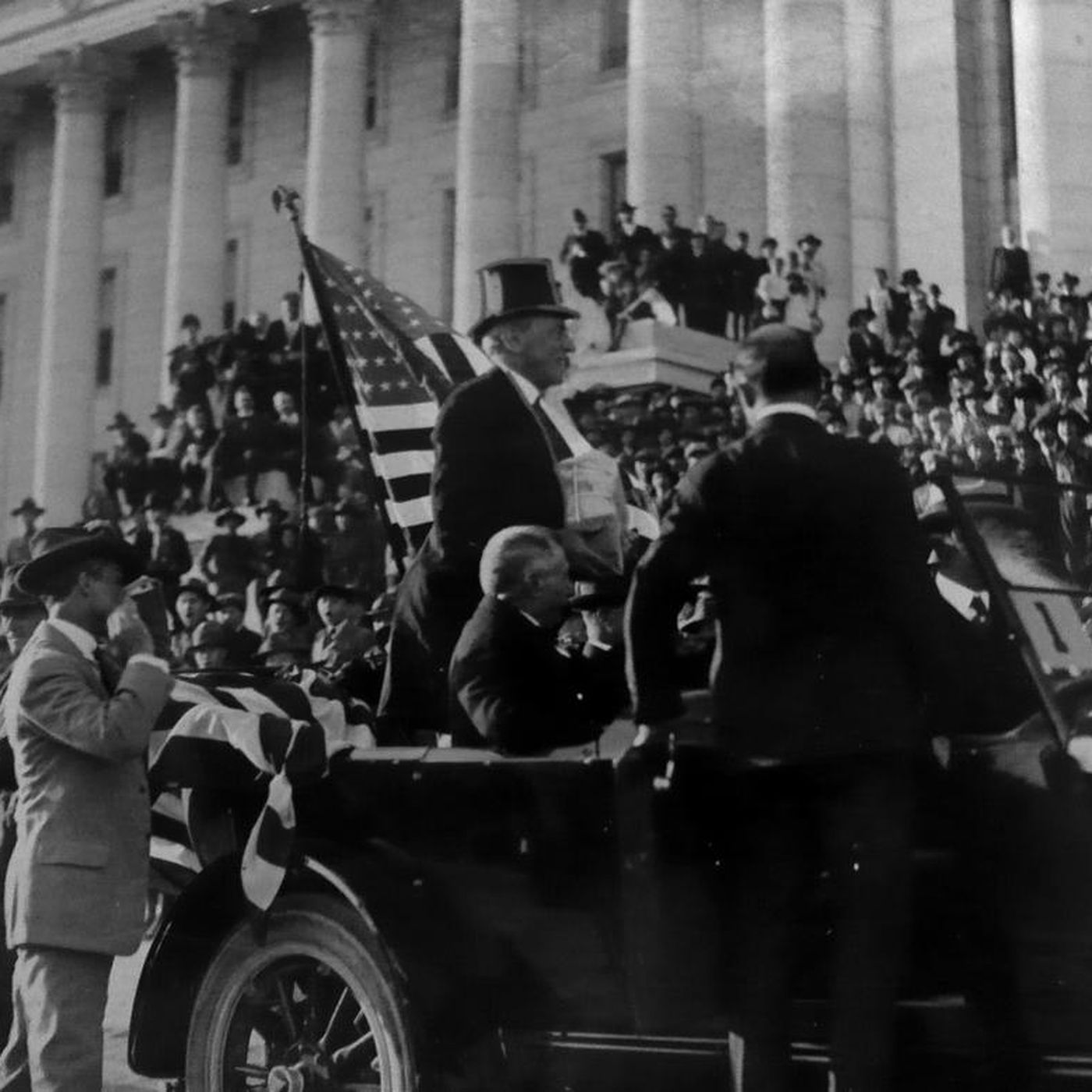This week in history: President Wilson suffers a stroke