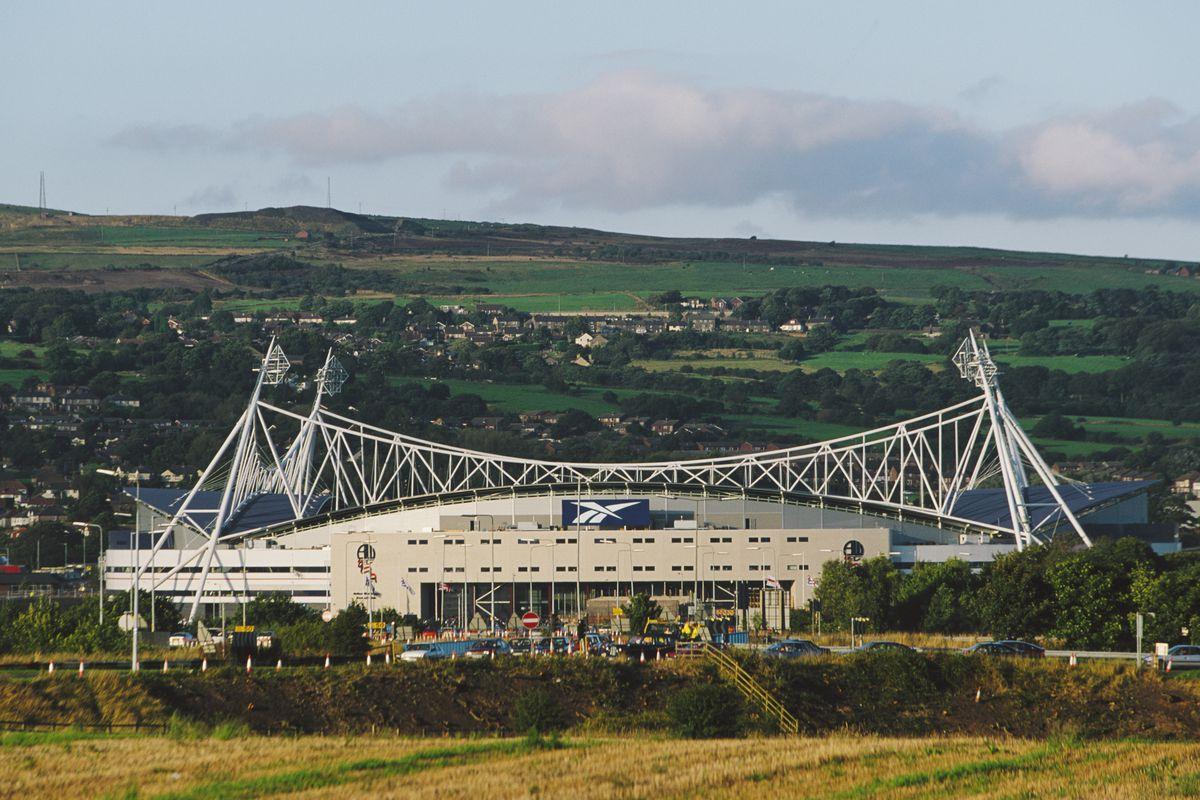 Reebok Stadium Home of Bolton Wanderers FC 1997