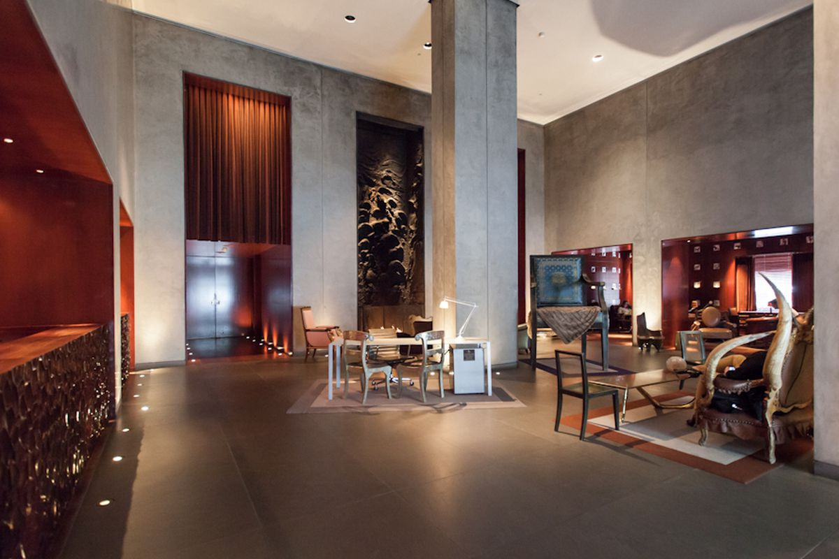 Hotels In New Orleans >> Inside the Philippe Starck-Designed CLIFT Hotel - Curbed SF