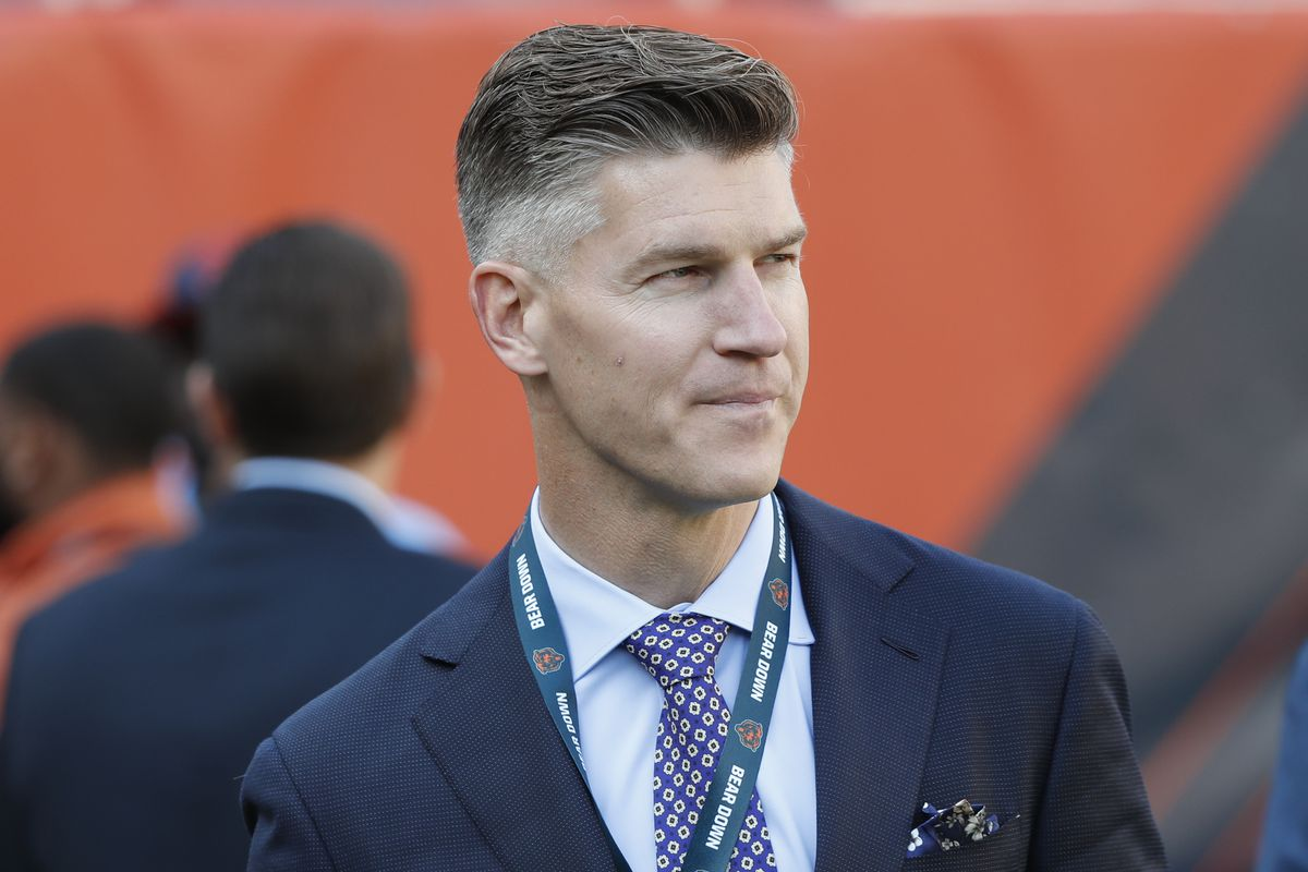 Ryan Pace agreed to sign quarterback Andy Dalton on Tuesday.