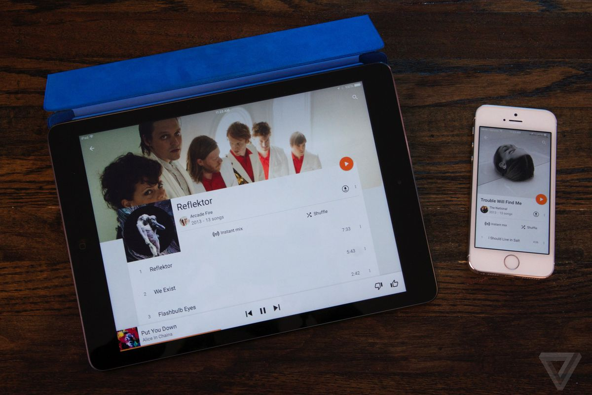 Google Play Music for iOS finally works on the iPad - The Verge