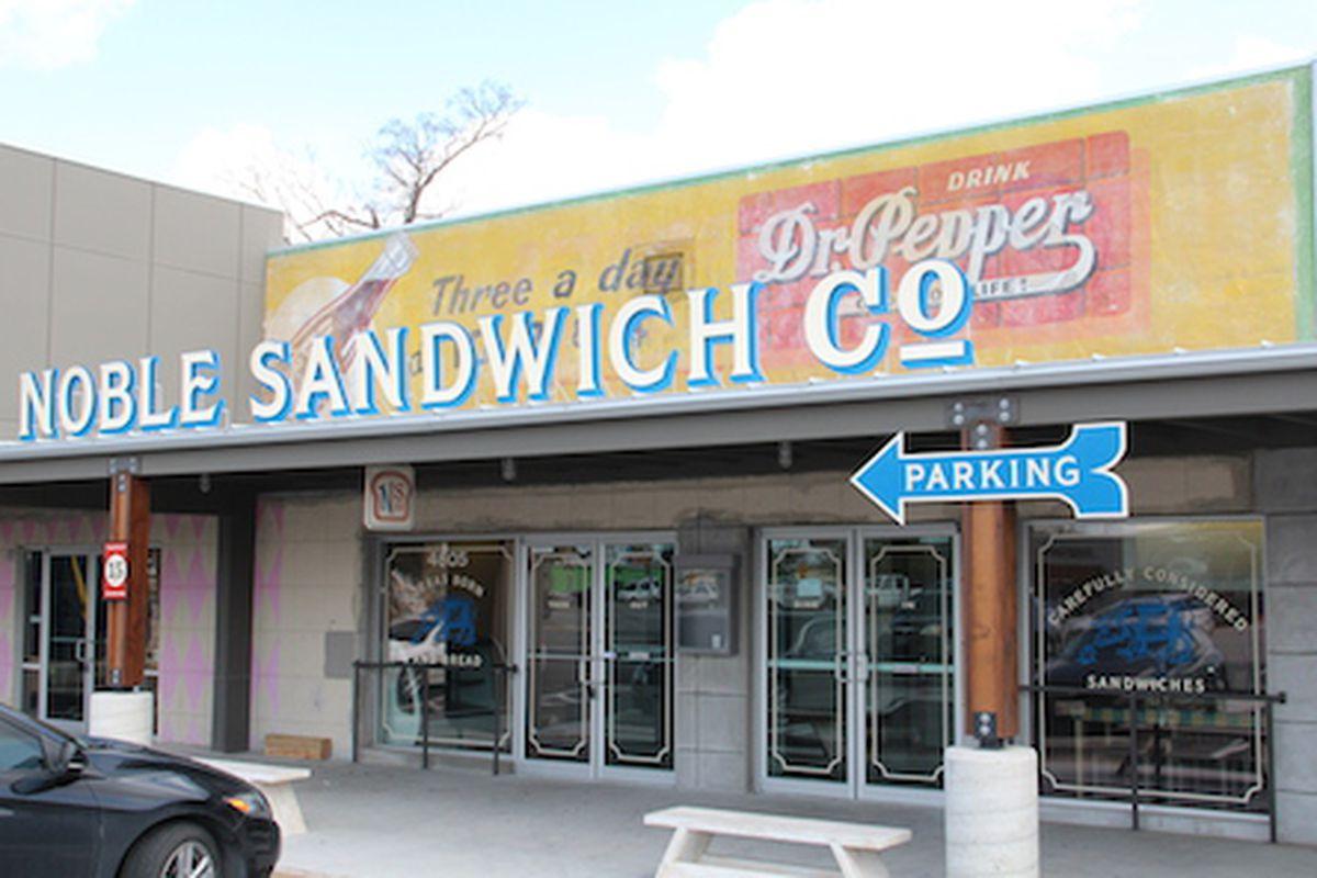 Noble Sandwich Co. in Austin.