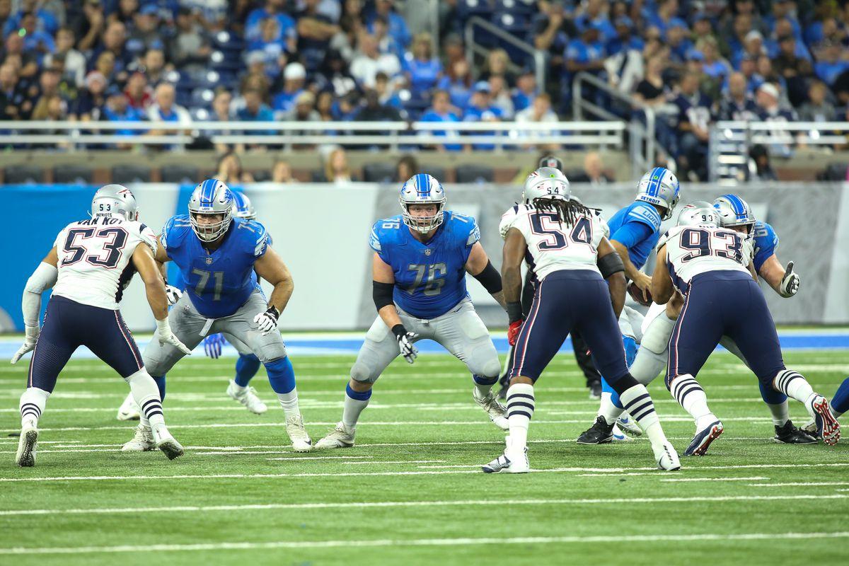 NFL: SEP 23 Patriots at Lions