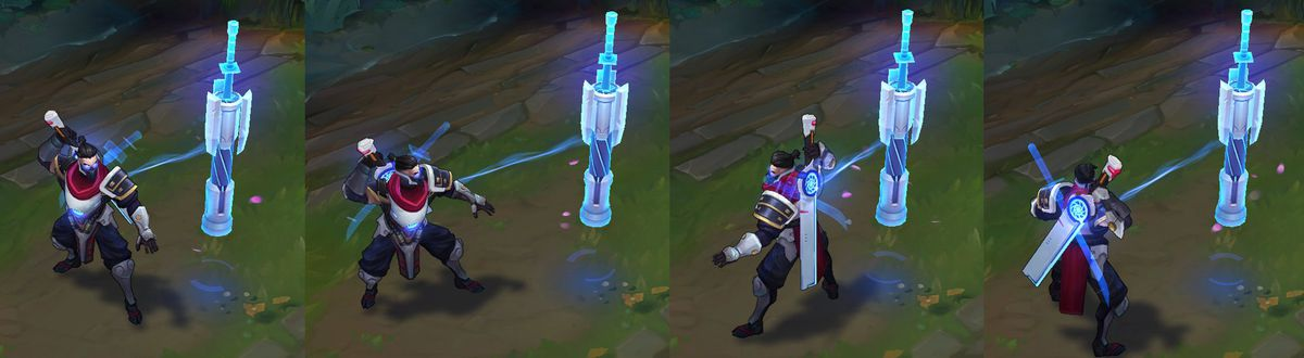 New Pulsefire Skins Shen Riven And Twisted Fate Warp In The
