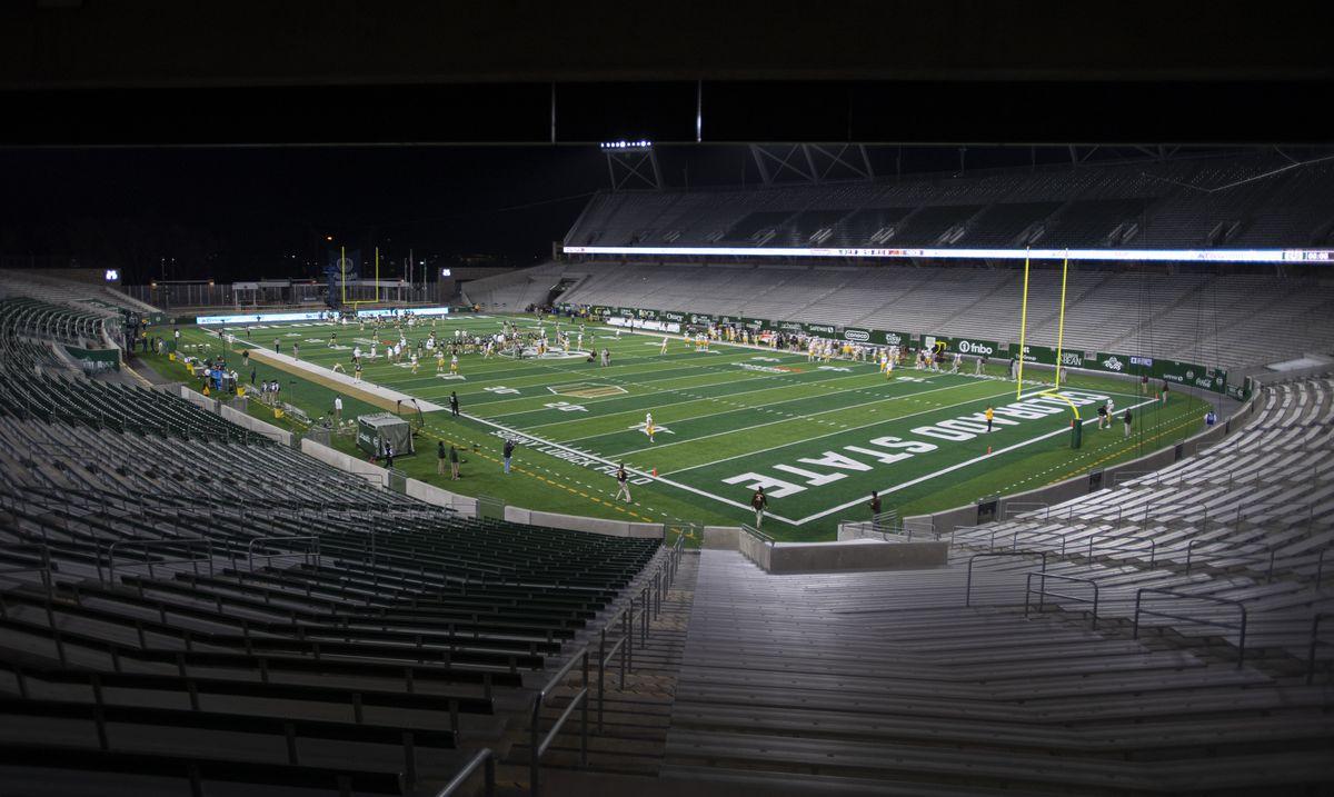 NCAA Football: Wyoming at Colorado State