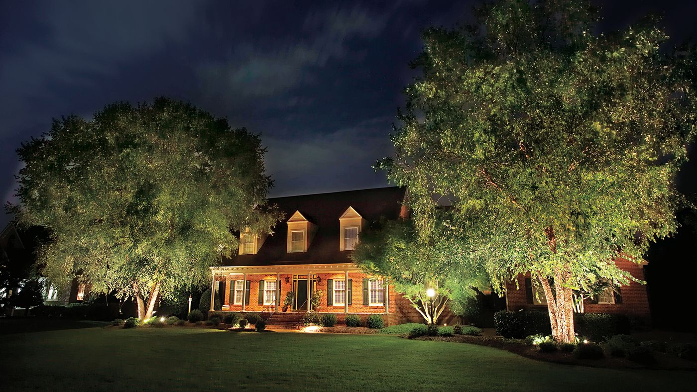 All About Landscape Lighting - This Old House