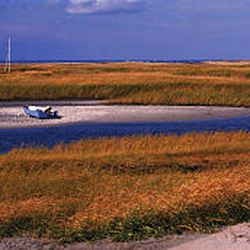 Cape Cod, as seen in Brewster, takes on vivid colors in autumn.