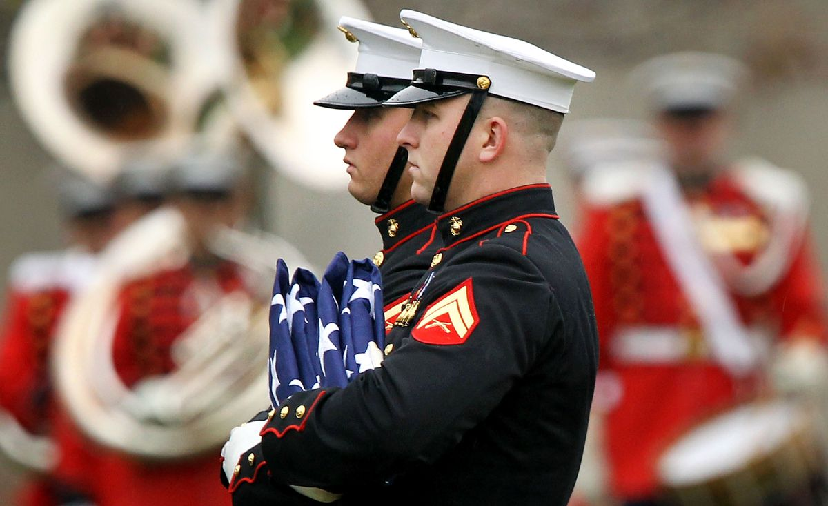 Marine Killed In Helmand Province Buried At Arlington Nat'l Cemetery