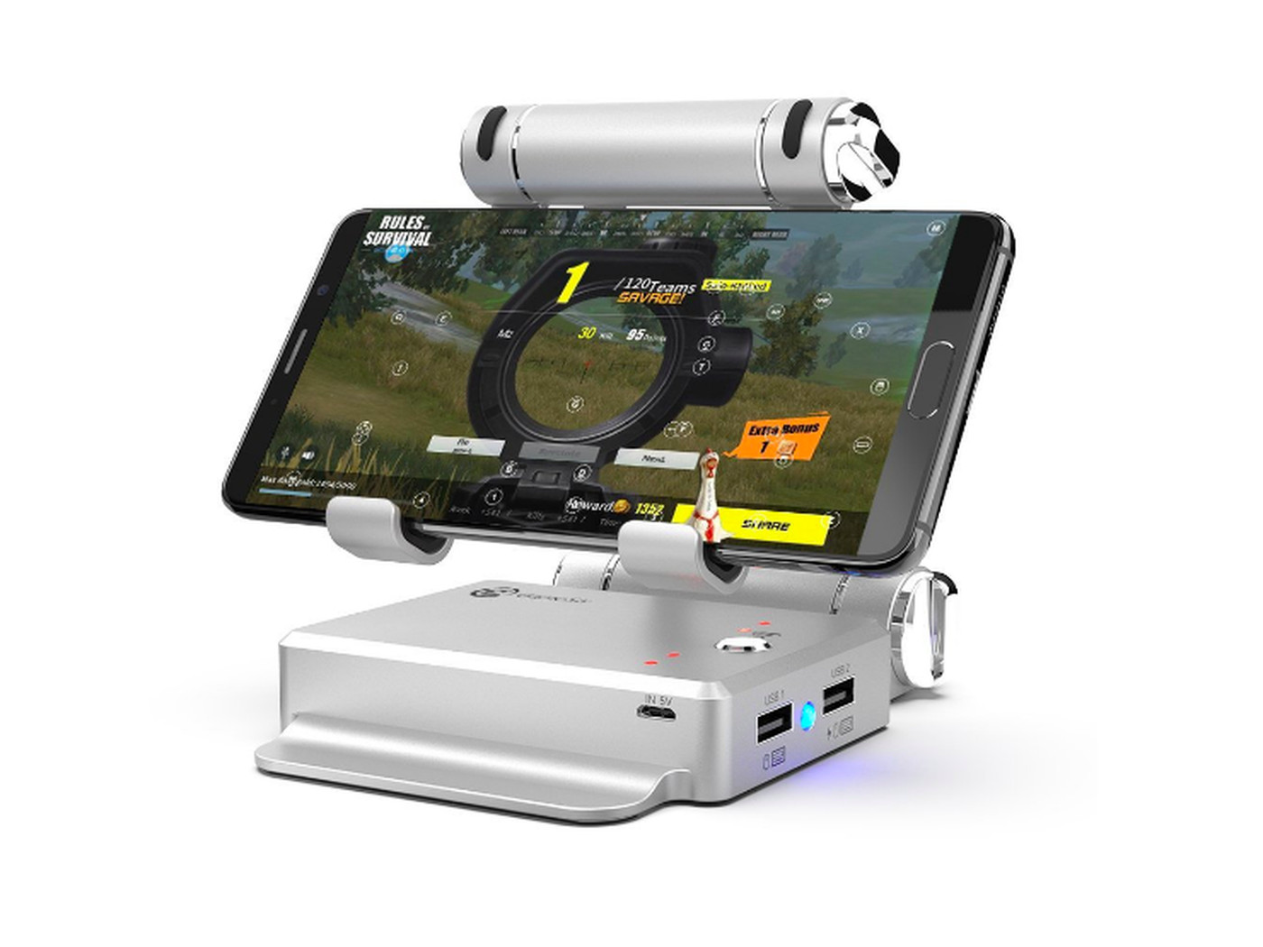 Stick To Fortnite On Pc And Consoles This Mobile Dock Isn T Worth It Polygon