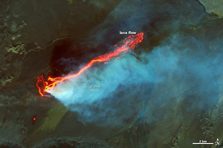 NASA holuhraun lava