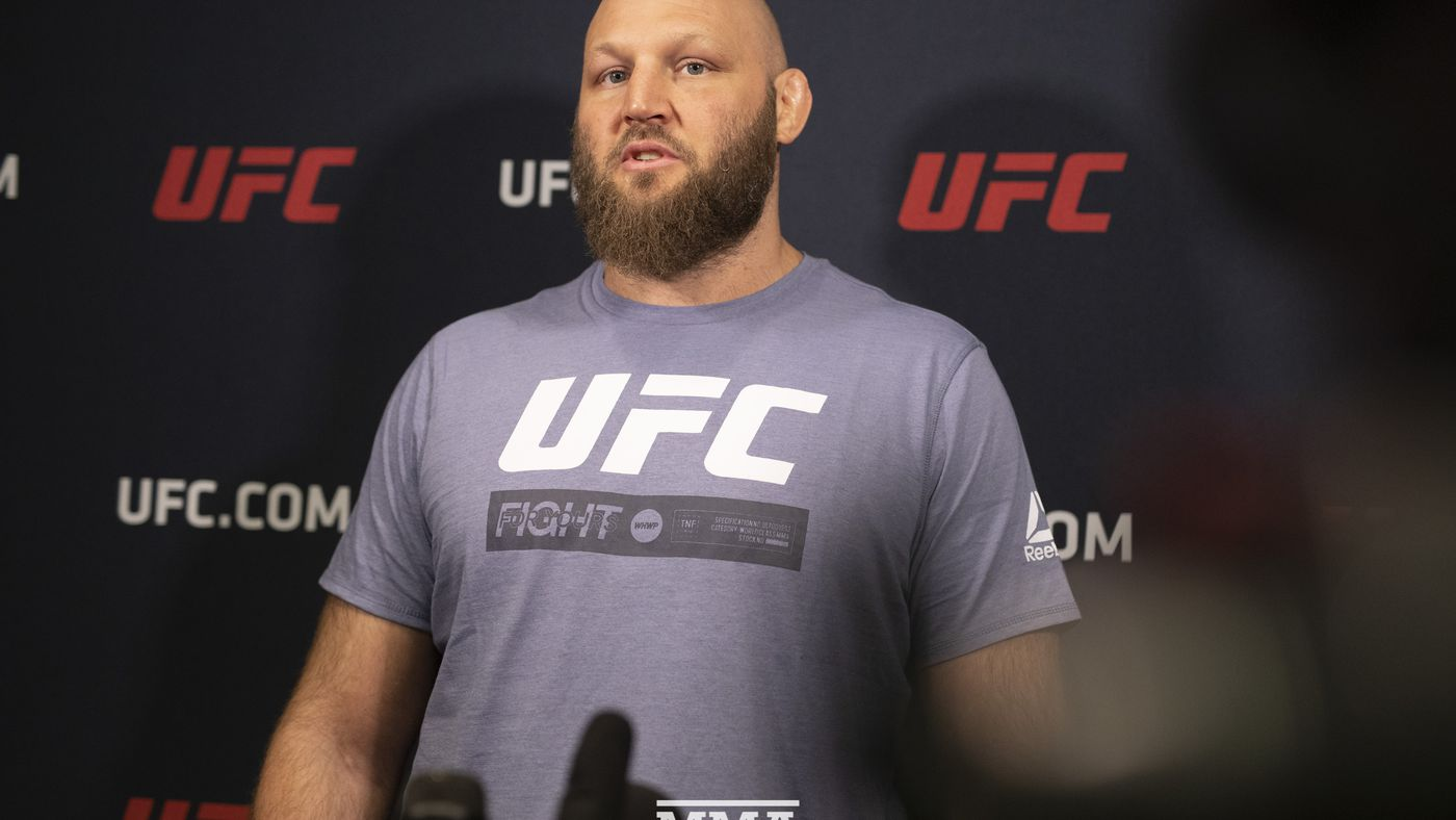 Ben Rothwell pledges not to fight Walt Harris after death of Aniah Blanchard
