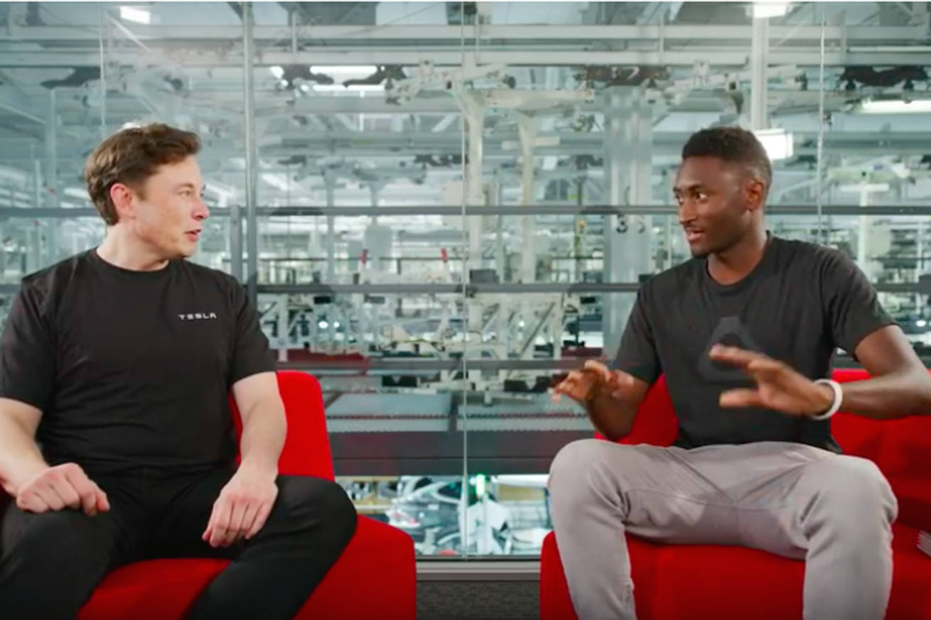 tesla eyes cost savings so it can make 25 000 cars in three years elon musk tells mkbhd