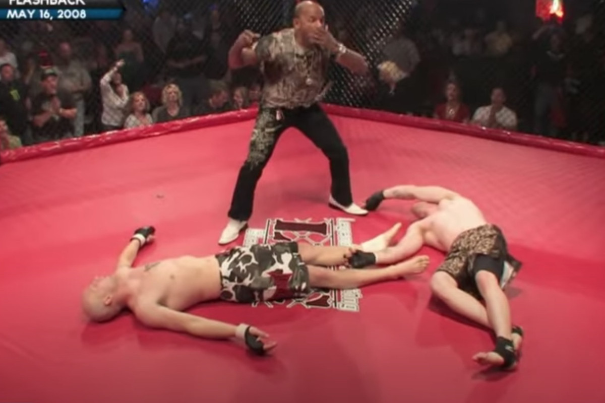 Shonie Carter double knockout referee