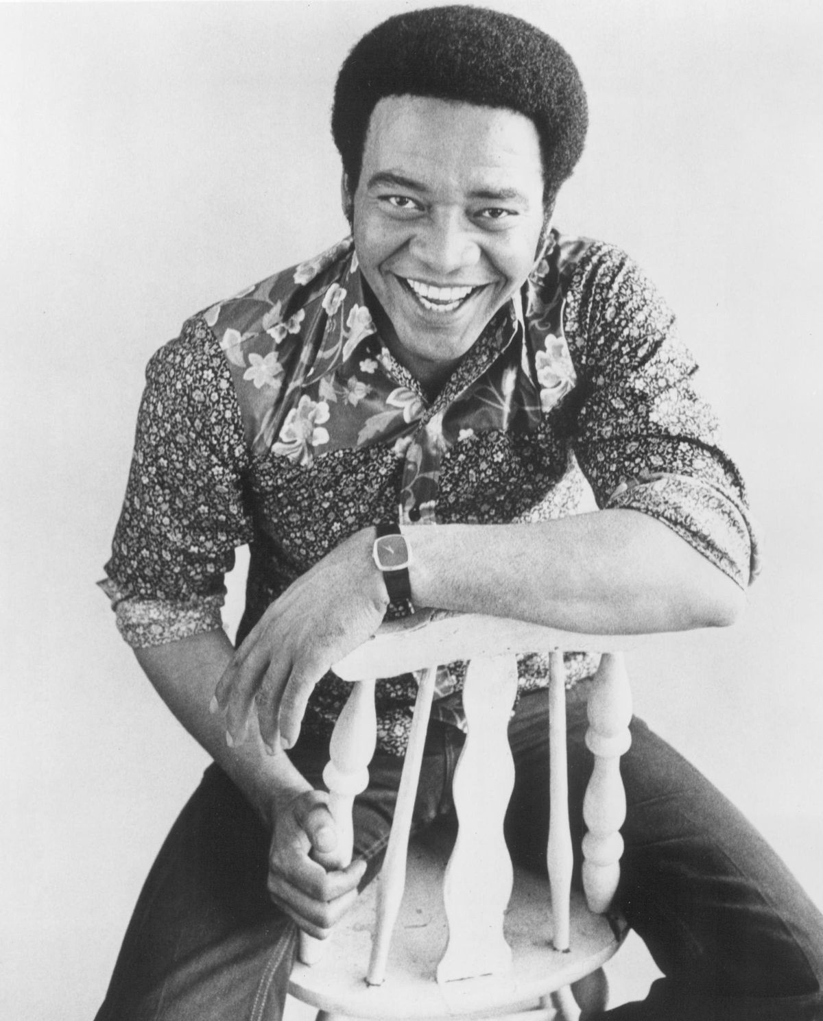 Withers (pictured in 1972) joined the Navy at 17 and spent nine years in the service as an aircraft mechanic installing toilets. After his discharge, he moved to Los Angeles, worked at an aircraft parts factory, bought a guitar at a pawn shop and recorded demos of his tunes in hopes of landing a recording contract.