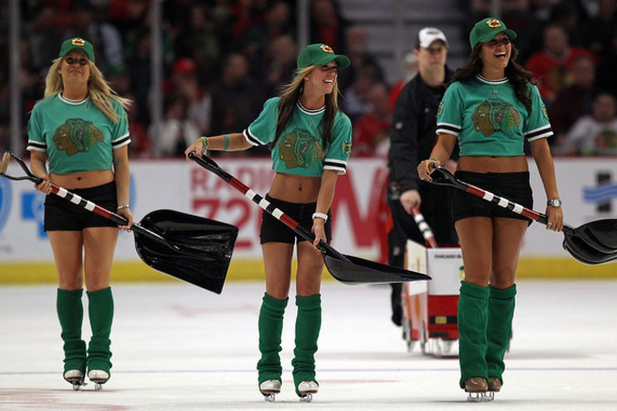 Pretty sure even the Hawks' ice crew could beat the Wild.