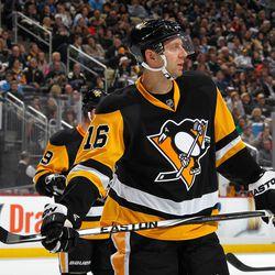 Eric Fehr, Pittsburgh Penguins (Photo by Gregory Shamus/NHLI via Getty Images)