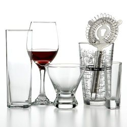 """<strong>The Cellar</strong> Glassware Bar Set, <a href=""""http://www1.macys.com/shop/product/the-cellar-glassware-16-piece-wine-and-bar-set?ID=792391"""">$29.99 (reg $43)</a>"""