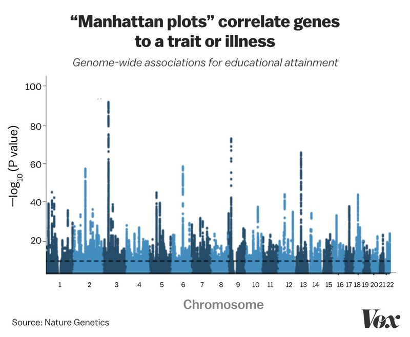 MANHATTAN_PLOT How scientists are learning to predict your future with your genes