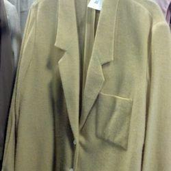 Yellow felted coat, originally $1750, now $525