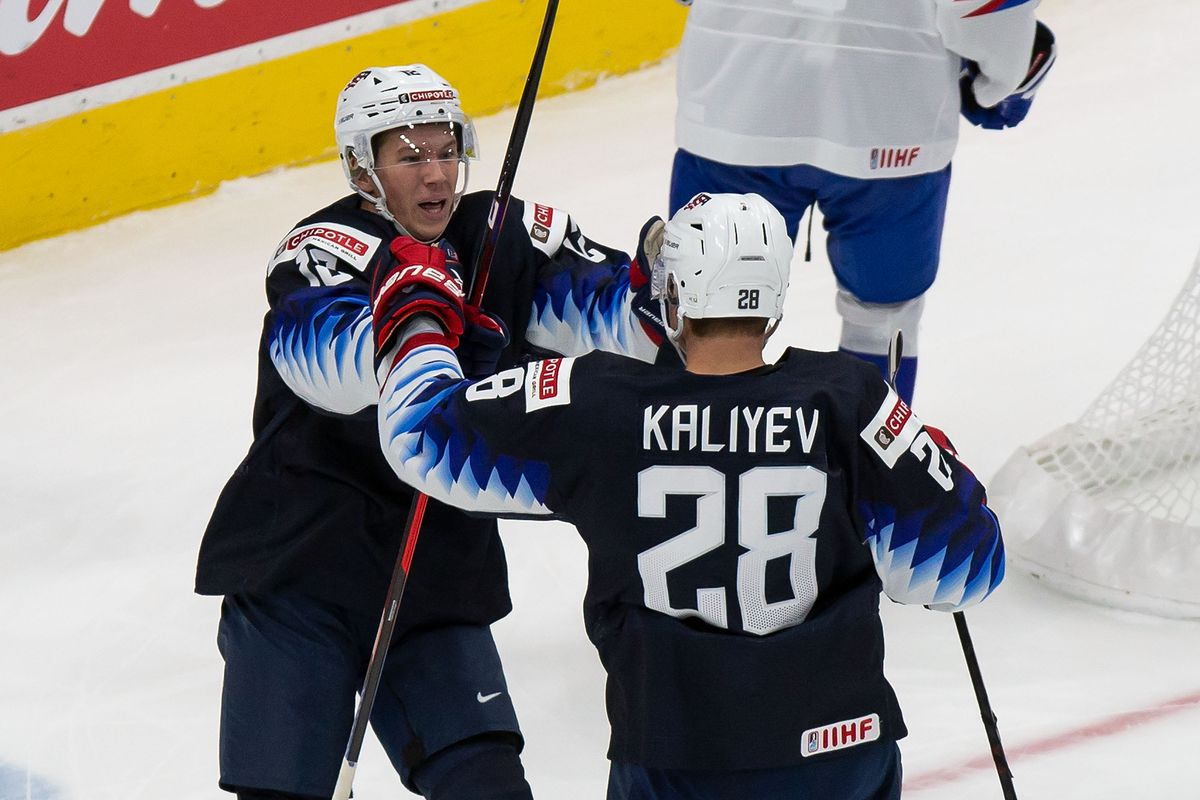 United States v Slovakia: Quarterfinals - 2021 IIHF World Junior Championship