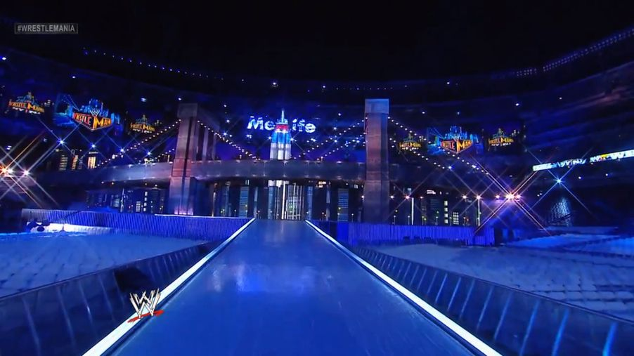 Wrestlemania 29 Stage Set Up Photo Gallery From Metlife