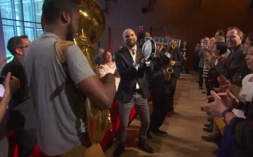 Photo: Jon Batiste at Welcome Conference