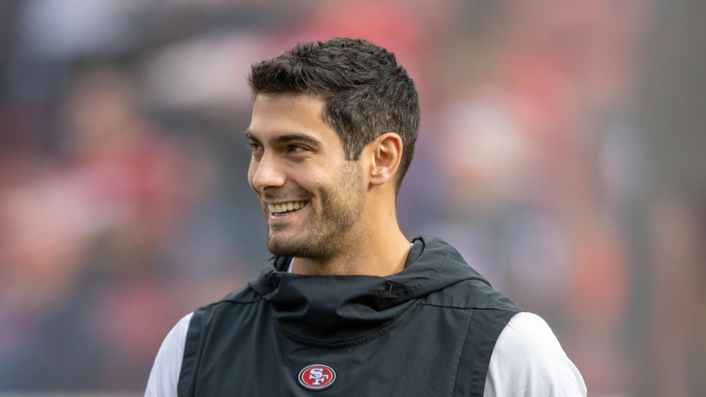 Jimmy Garoppolo ranks No. 6 on SI's list of players chugging beer.