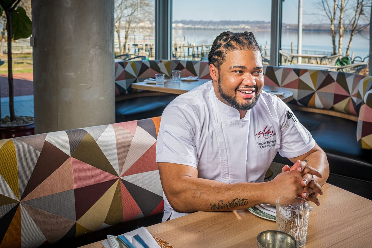 Ada's chef Randall J. Matthews, a Maryland native, incorporates influences his mother and grandmother to fill out a steakhouse-style memu.
