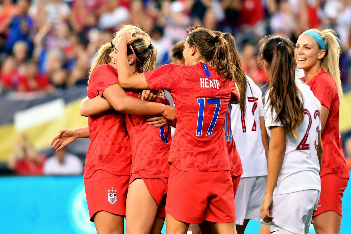 Soccer: U.S. Women's National Soccer Team Victory Tour-Portugal at USA