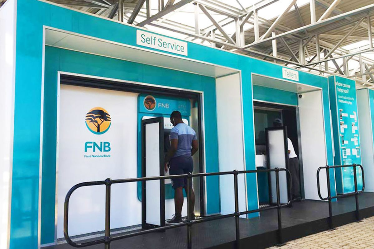 Shipping Containers Become Pop Up Banks In Rural South