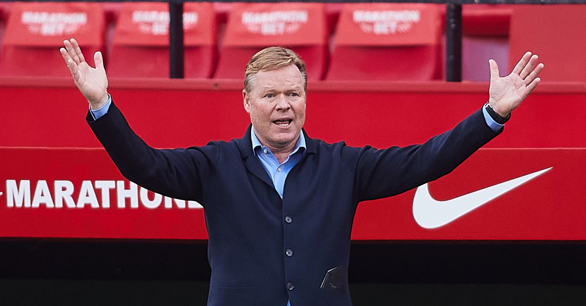 Koeman explains why he switched tactics for Barcelona's trip to Sevilla - Barca Blaugranes