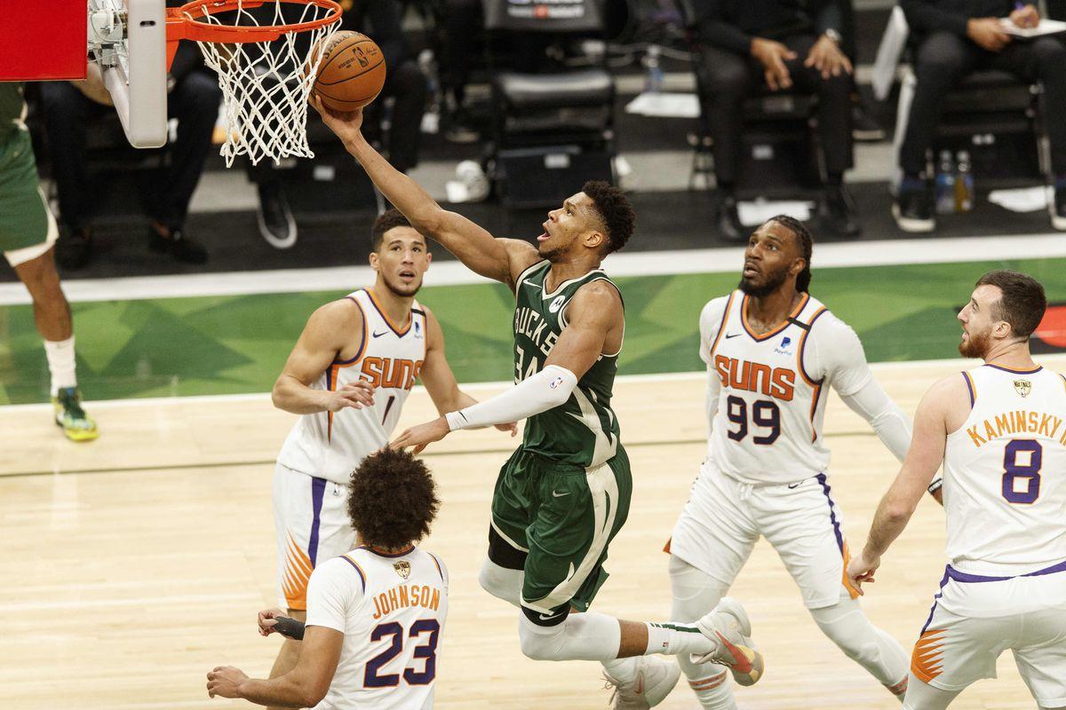 NBA Finals Game 3 Milwaukee vs. Phoenix: Bucks Storm Past Suns, 120-100 - Brew Hoop