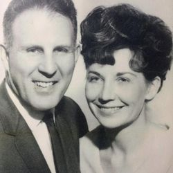 Keith and Jody Renstrom during the beginning years of the Valley Center Playhouse in Lindon. The Renstroms are closing the playhouse on Dec. 21 after 38 years of community theater.