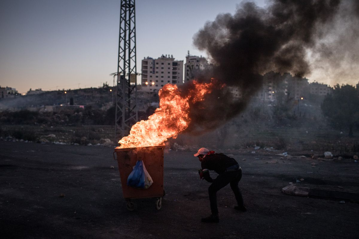 Day Of Rage Grips Jerusalem And West Bank