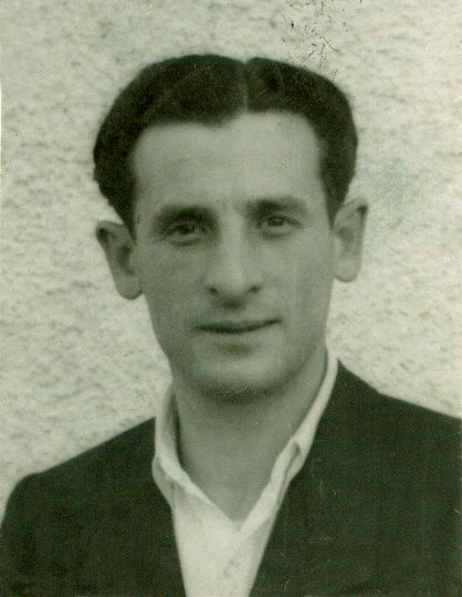 Leon Figa in a displaced persons camp after WWII. | Family photo