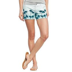 """The Diva Denim Shorts in Blue Palm, $15 (on sale from $22.94) at <a href=""""http://oldnavy.gap.com/browse/product.do?cid=68348&vid=1&pid=524902082#close"""">Old Navy</a>"""