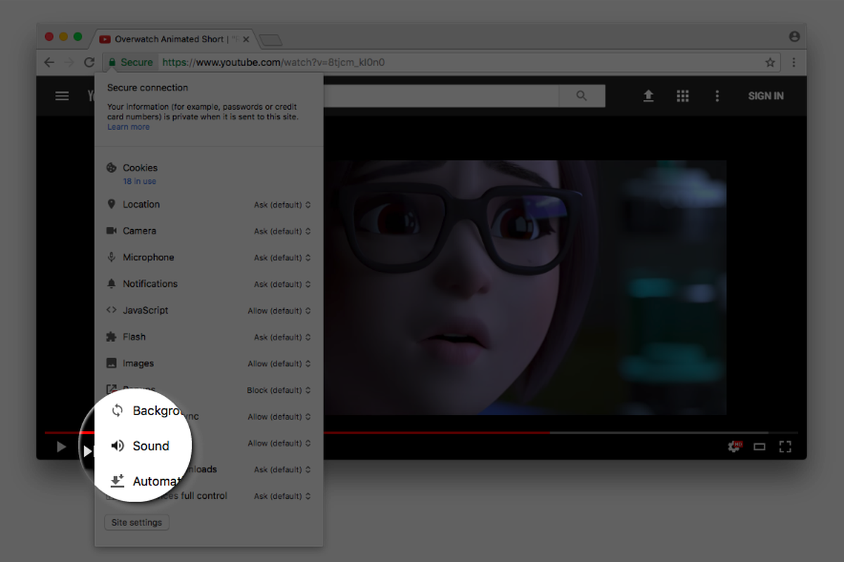 You'll soon be able to disable autoplay videos in Google Chrome