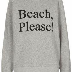 "Sweatshirt, <a href=""tsus/product/clothing-70483/ashish-x-topshop-3008724/beach-please-sweat-by-ashish-x-topshop-2987017?bi=21&ps=20"">$100</a>"